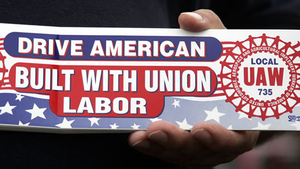 Industryweek 16536 Uaw Bumper Sticker