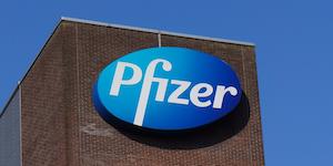 Pfizer Logo Blue © Daniel127001 Dreamstime