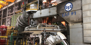 Electronic Arc Furnace Number One Us Steel