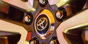Toyota Logo In Wheel © Joshua Wanyama Dreamstime