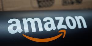 Amazon Logo On Black Amazon Shipping © Kraft74 Dreamstime