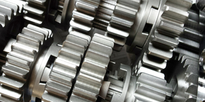 Gears Close Up Silver Motorcycle Transmission © Kathleen Howell Dreamstime
