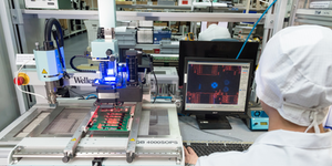 Production Of Computer Chips High Tech Manufacturing © Nikita Buida Dreamstime