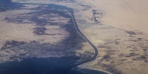 Suez Canal Aerial View © Askme9 Dreamstime