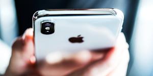 Apple Iphone X Smartphone Iphone X Tech Pojoslaw Dreamstime