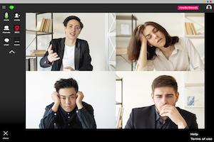 Virtual Meeting Bored Golubovy