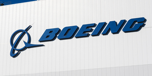 Boeing Logo Blue On White Building © Iandewarphotography Dreamstime