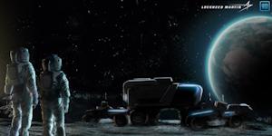Moon Lander Concept Gm Lockhead Martin