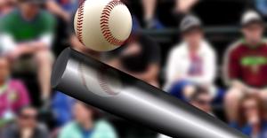 Bat Hits Ball Dreamstime Xxl 63138437