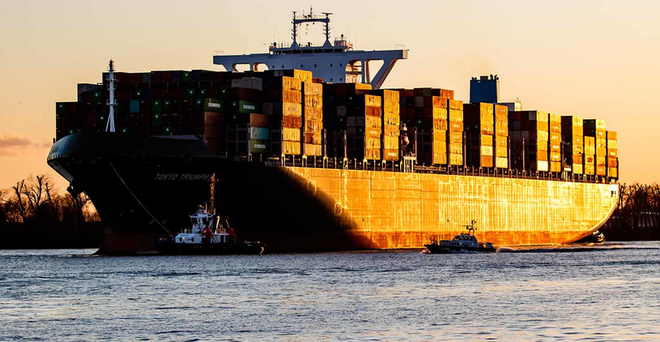 Container Ship G Morris Mac Matzen
