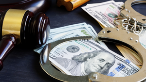 Gavel Money Handcuffs Sentencing Corruption Crime Court Justice Law Legal Arrest Designer491 Dreamstime 60c284ed90153