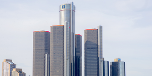 General Motors Gm Detroit Headquarters © Roxana Gonzalez Dreamstime