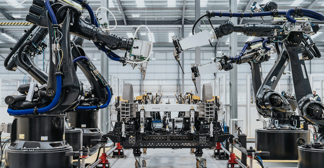 Arrival Robot Tech Cell 1