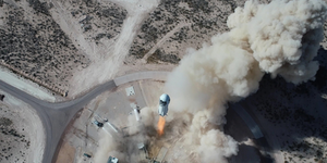 Ns14 Launch Drone New Shepherd Blue Origin
