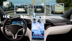 Self Driving Car Heads Up Display Abstract Concept Scharfsinn86 Dreamstime 60dd4634ef8c8