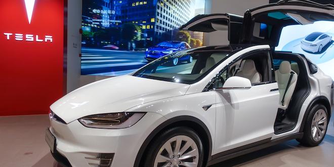 Tesla Gull Wings Car Vehicle Ev Electric Vehicle Automotive Photomall Dreamstime