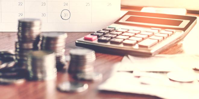 Calculator Taxes Calendar Money Banking Funds Cash Bread Dough Etc © Siriporn Kaenseeya Dreamstime