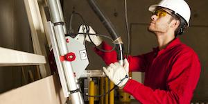 Guy Engineer Hard Hat Operating Machinery Photographerlondon Dreamstime