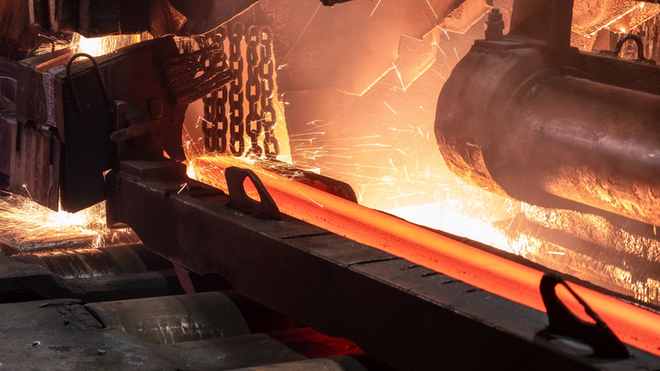 Hot Rolled Steel Cutting Process Nordroden Dreamstime 61081e316d866