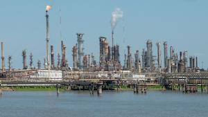 Louisiania Oil Refinery