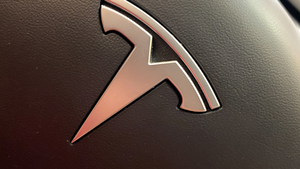 Tesla Logo Steering Wheel Detail Joni Hanebutt Dreamstime 5fbe04c880015