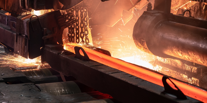 Hot Rolled Steel Cutting Process © Nordroden Dreamstime