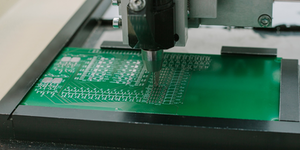 Production Of Circuit Microchip Silicon Wafer Semiconductor Computer Components Circuitboard © Franz1212 Dreamstime