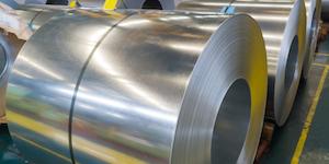 Rolled Steel On Factory Floor Metal Roll Rolls Flat Raw Material© Hikokhot Dreamstime