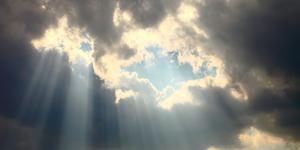Sunlight Through Clouds Concept Optimism Silver Linings Light Shadow Etc © Akarawut Lohacharoenvanich Dreamstime